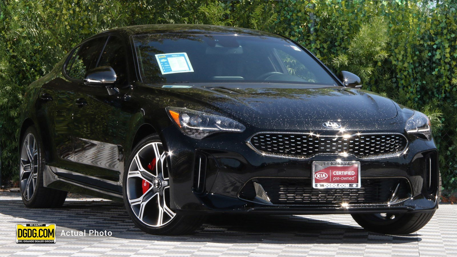 Certified Pre-Owned 2018 Kia Stinger GT