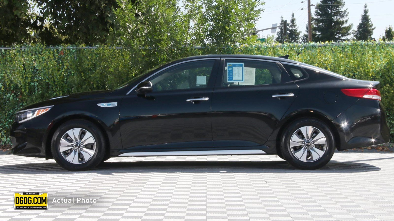 Certified Pre-Owned 2017 Kia Optima Hybrid Base
