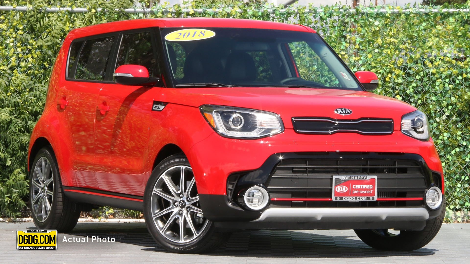 Certified Pre Owned 2018 Kia Soul Exclaim