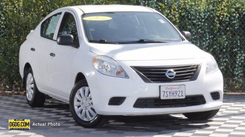 Pre-Owned 2013 Nissan Versa 1.6 S Plus