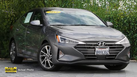 2019 Hyundai Elantra Limited FWD 4D Sedan