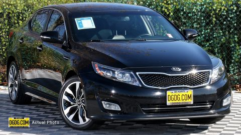 2015 Kia Optima SX With Navigation