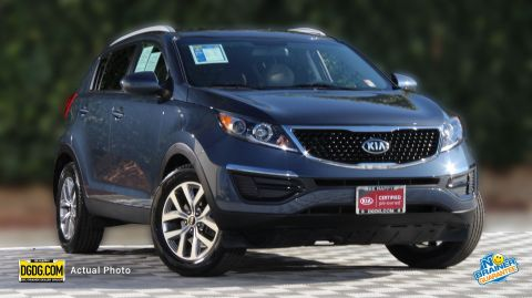 Certified Pre-Owned 2016 Kia Sportage LX