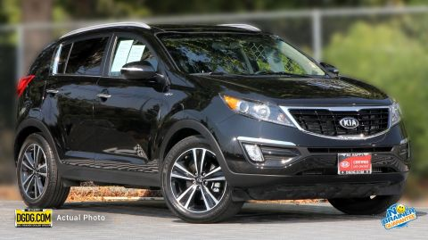 Certified Pre-Owned 2015 Kia Sportage SX