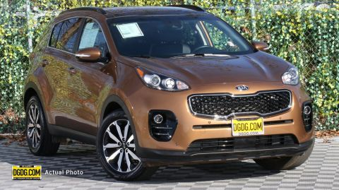 Certified Pre-Owned 2019 Kia Sportage EX