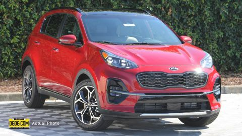 2020 Kia Sportage SX Turbo With Navigation