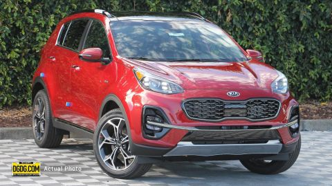 2020 Kia Sportage SX Turbo With Navigation & AWD